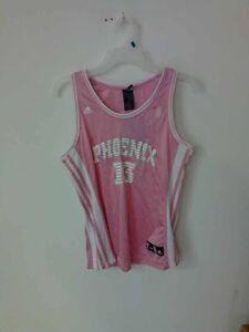 7fe3e98d809 Adidas Women s NBA Jersey Phoenix Suns Steve Nash Pink sz XL