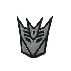 Transformers Autobot & Decepticon Character Patch - Iron-on / Sew-on Badge