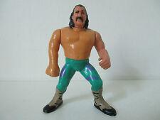 FIGURINE CATCH WWF FIGURE - JAKE THE SNAKE - HASBRO 1990