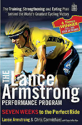 """""""AS NEW"""" Armstrong, Lance, The Lance Armstrong Performance Program (Rodale): The"""