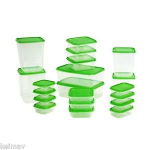 Keimav Quality Container Plasticware Foodsaver 20-Piece Set