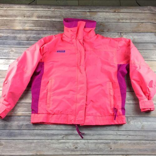 Pink Vintage Bugaboo Bright Jacket Ski Kvinders Columbia M Snow fxR1PwR