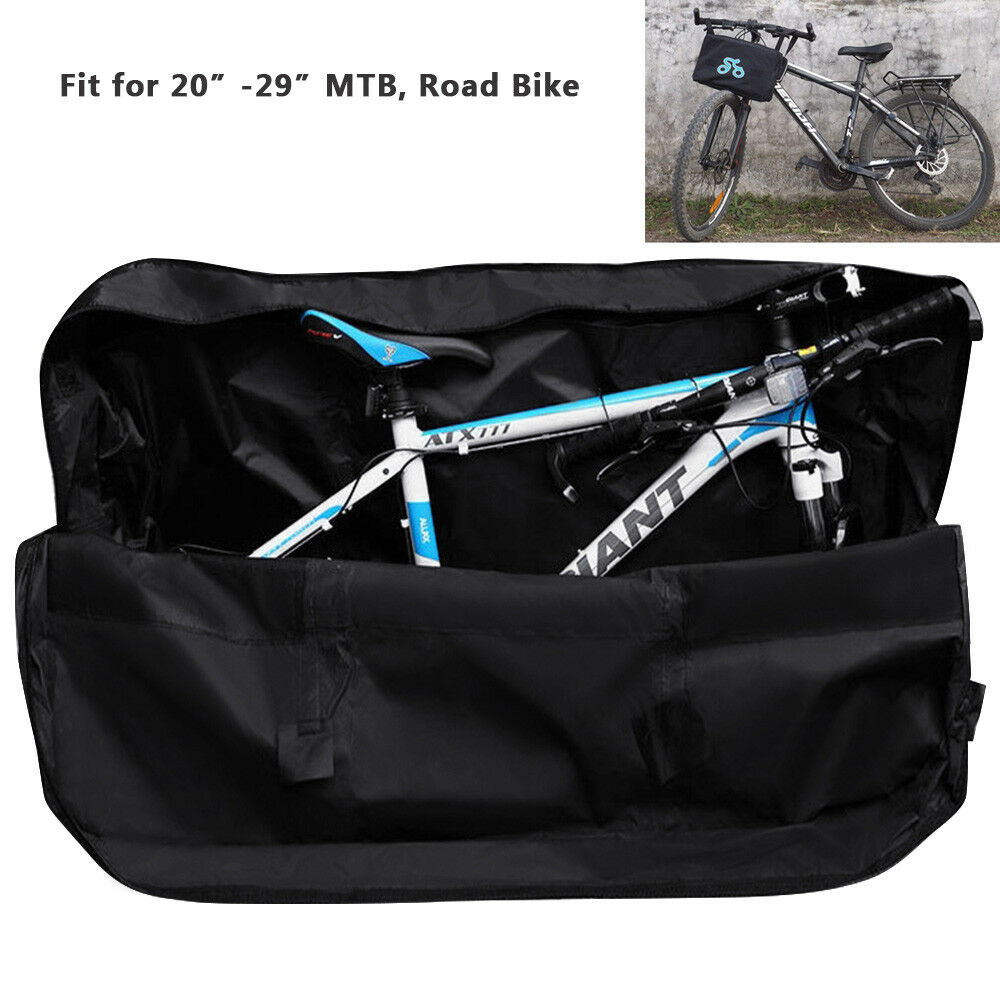 """Folding Bicycle Mountain Bike Carry Bag Carrier Luggage  Storage Transport 20/"""""""