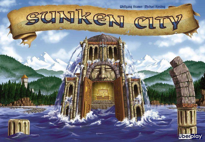 Sunken City Board Game - Battle Neptune & Search for Treasures Before Sinking