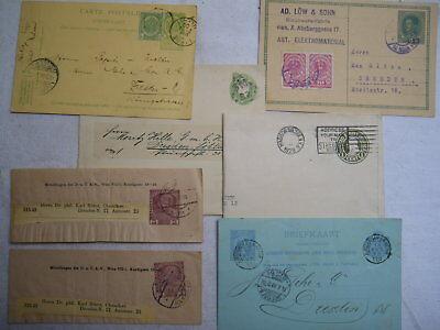 16 Briefe-karten , 1898 - 1928