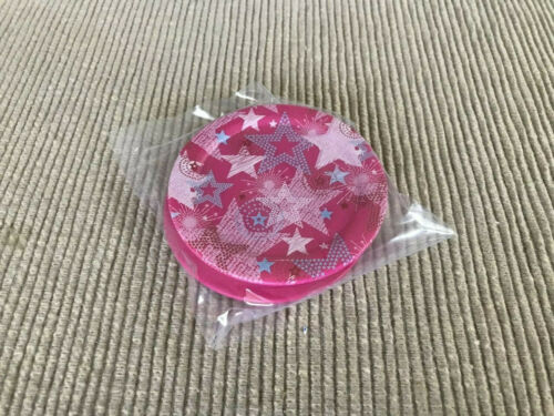"""American Girl doll set of 2 star logo plates  for 18/"""" doll NEW pink party dishes"""