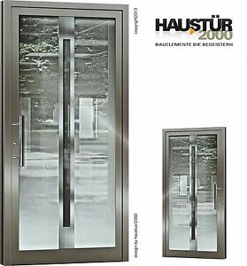 aluminium haust r ganzglasf llung alu haust ren nach ma mod ht 5459 gla ebay. Black Bedroom Furniture Sets. Home Design Ideas