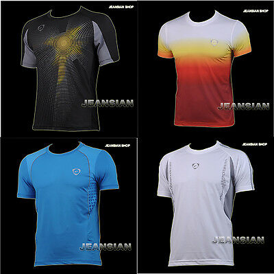 3mu Designer Mens Sports Quick Dry Stretch T-Shirts Top Tee Stylish S M L XL LSL