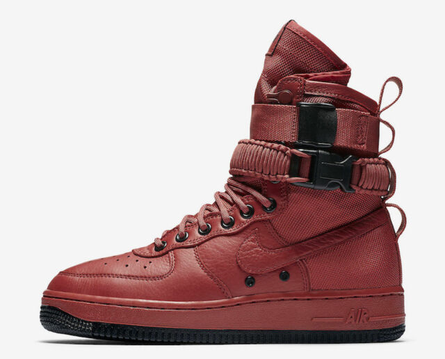 Nike WMNS SF Af1 Special Field Red Cedar Air Force 1 Women Shoes 857872 600 8.5