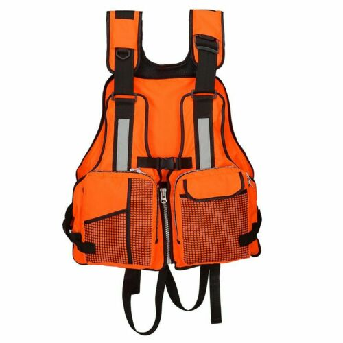 Adults Life Jacket Vest For kayak Fishing Rafting Canoe Swimming Aids Waistcoat