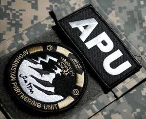 National Afghanistan Armée Ana Afghan Partnering Unit Commando Vêlkrö 2-INSIGNIA