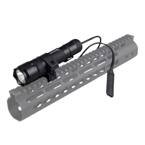 502B 5000Lm XM-L T6 LED Tactical Flashlight Torch+Rifle Mount Gun+Remote Switch