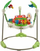 Fisher-price Rainforest Jumperoo, Comfortable Rotating Seat Baby Jumper, K6070