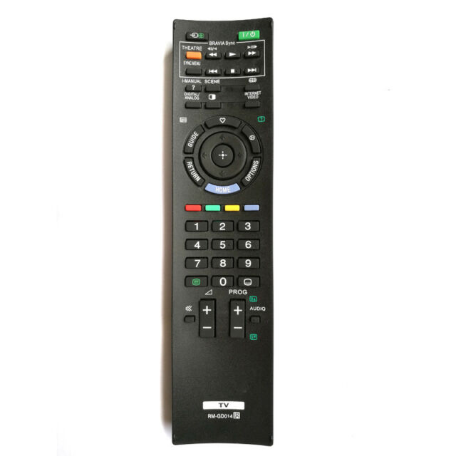 New Replace RM-GD014 TV Remote Control For SONY BRAVIA HDTV RM-GD005 KDL-52Z5500