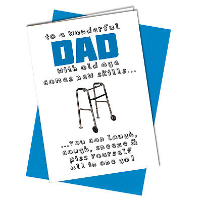 #1000 FATHERS DAY CARD or BIRTHDAY CARD Freddie Mercury Queen Pappa Rude Funny