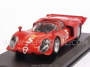 Alfa Romeo 33.2 Araignées 1969 Larrousse - Verrier 1:43 Best 9585