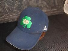 Adidas NOTRE DAME FIGHTIN' IRISH Baseball CAP Hat green 3-Leaf Clover Taiwan