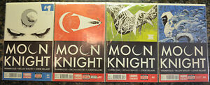 MOON-KNIGHT-LOT-of-4-1-2-3-4-2014-Marvel-Comics-NM-9-6-9-8