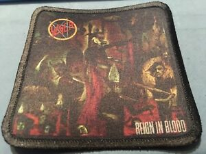 """Iron Maiden Killers Sublimated Patch 3""""x3"""" Album Cover Rock Metal Music"""