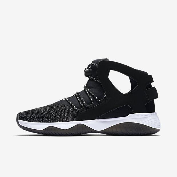 Nuove Nike Uomini 'Volo Huarache Ultra   (880856-001 Nero / Bianco / Volt