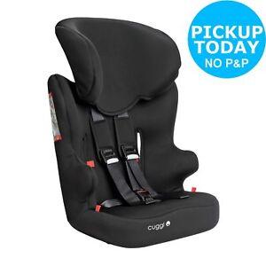 Cuggl Chaffinch Groups 1-2-3 Car Seat 4.5kg - Black