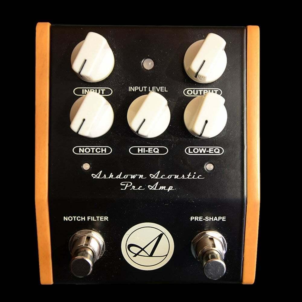 Ashdown Acoustic Pre Amp Pedal, Pre Owned