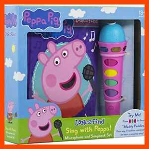 Peppa Pig Sing W Microphone & Look Find Sound Activity