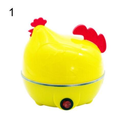 Chicken Shape Electric 7 Holes Egg Boiler Steamer Cooker Kitchen Cooking Tools