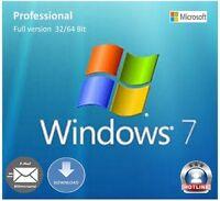Windows 7 Professional Product-key 32/64 Bit Sp1 Multilingual Full Version