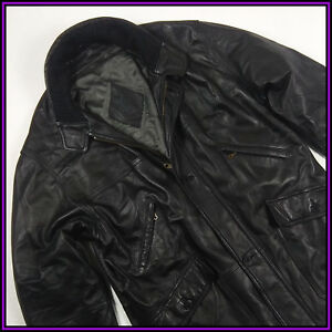 YSL YVES SAINT LAURENT Size 52/ 3XL MEN'S VINTAGE BLACK VERY SOF LEATHER JACKET - Szczebrzeszyn, Polska - YSL YVES SAINT LAURENT Size 52/ 3XL MEN'S VINTAGE BLACK VERY SOF LEATHER JACKET - Szczebrzeszyn, Polska