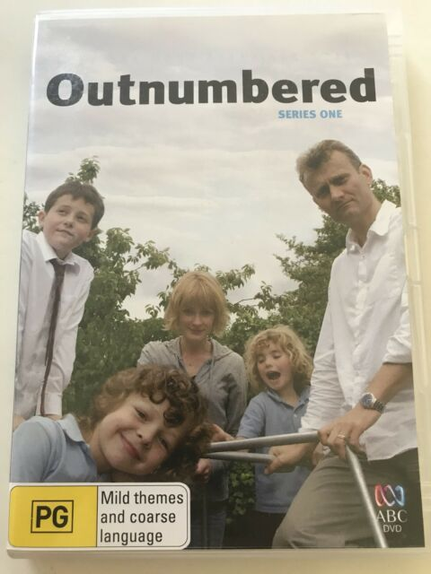 OUTNUMBERED SERIES ONE - DVD R 4