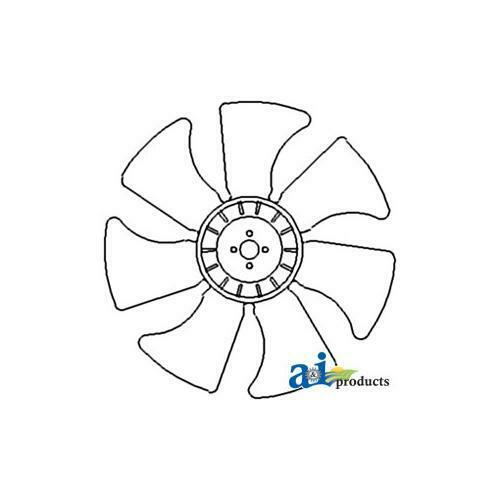 1720 SBA145306520 Radiator Cooling Fan for Ford// New Holland Tractor T1520 1620