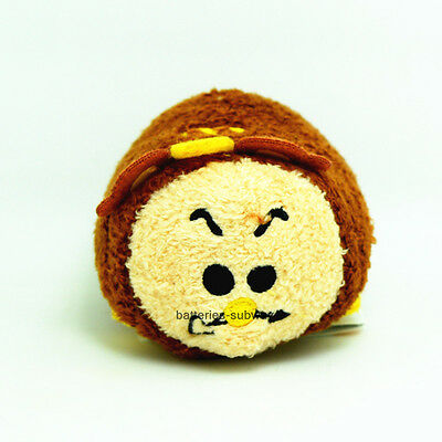 """New Disney Cogsworth From Beauty and the Beast  Tsum Tsum plush Toy Doll 3 ½/"""""""