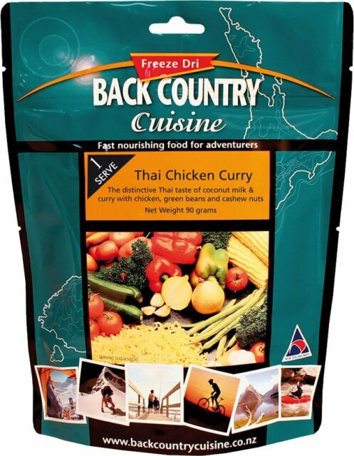 Back Country Cuisine Thai Chicken Curry 90g Freeze-Dried Meal