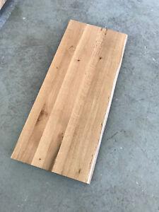 Das Bild Wird Geladen Tischplatte Platte Eiche Massiv  Holz Mit Baumkante NEU