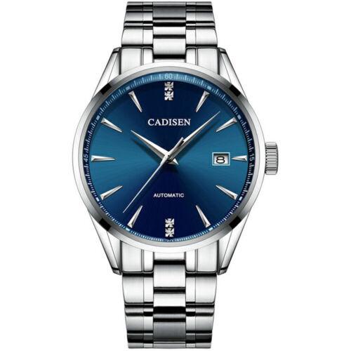 CADISEN C1033 BLUE 40 mm. AUTOMATIC SEIKO NH35