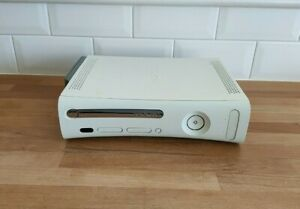 Microsoft XBOX 360 White Games Console with 60GB HDD - Console Only
