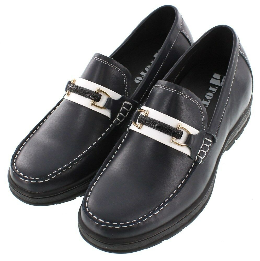 TOTO H22623 - - - 2.4 Inches Elevator Height Increase Convenient Slip-On Loafers 906f56