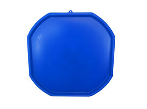 BLUE Children's Play Mat Sand Pit Water Tray Plastic Toys Pool Kids Mixing Tray