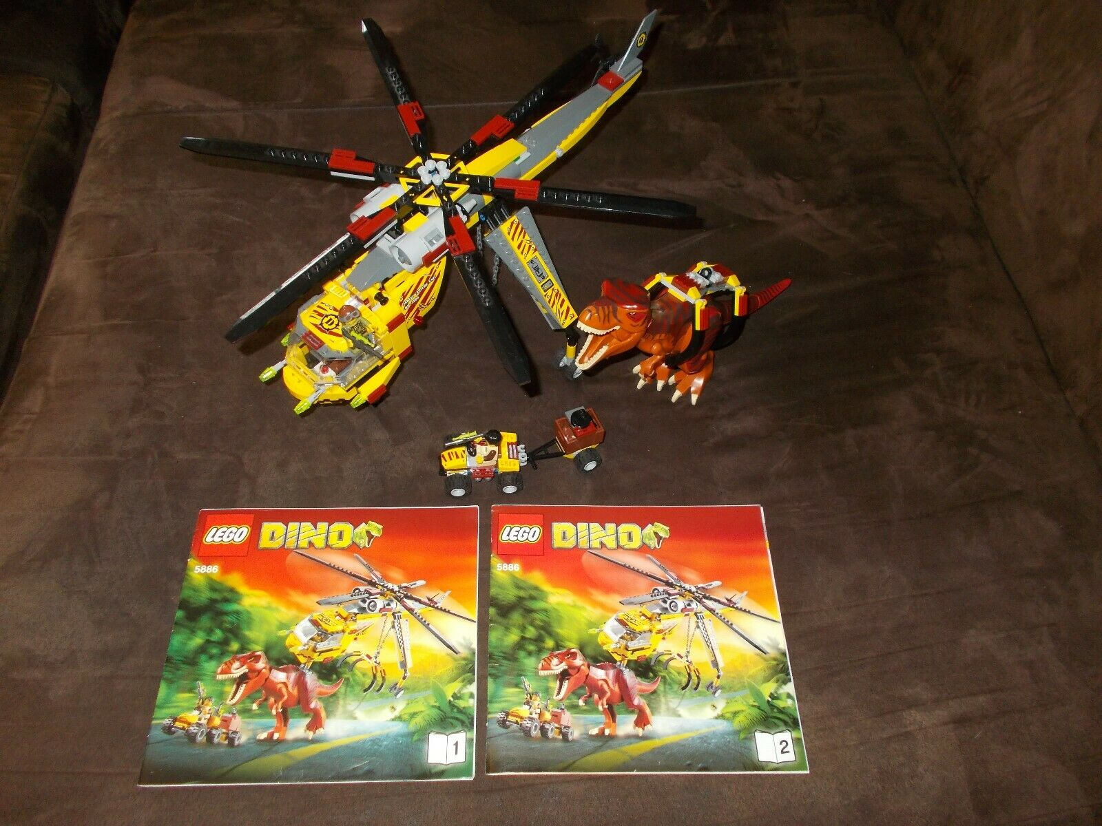 Lego® Dino - 5886 - T-Rex Transport-Helikopter - mit Bauanleitung (BA)