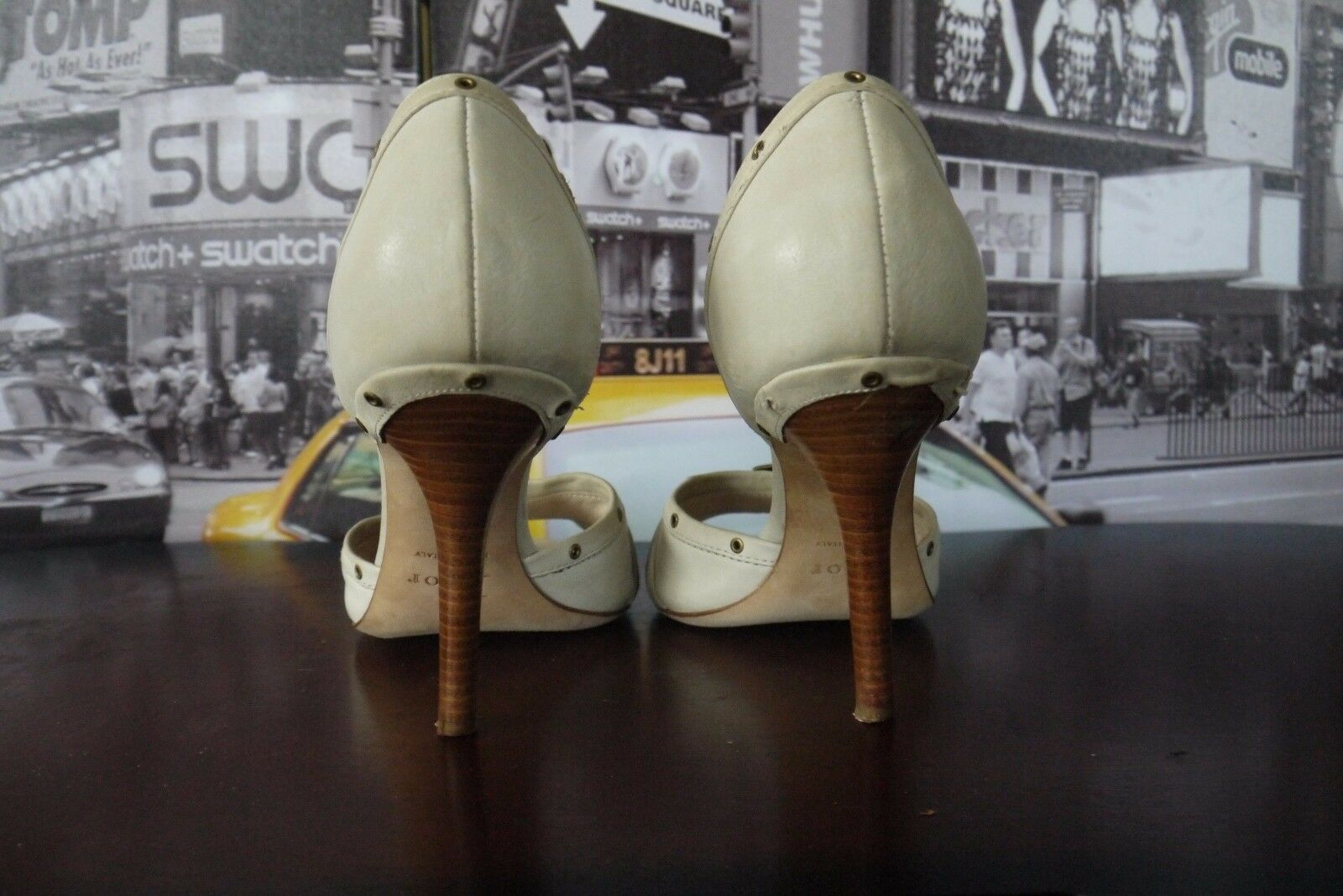 Gorgeous Christian Dior peep toe / pumps IT 38  / toe US 8 hot sexy WoW 13fac9