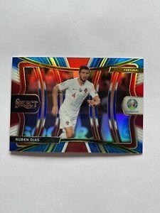 2020 Panini Select UEFA Euro Soccer Ruben Dias Mezzanine Tri-Color Prizm #128