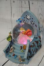 The Disney Store Sleeping Beauty Aurora Snowglobe with color changing dress