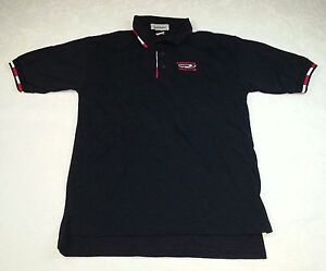 Men-039-s-Size-S-Small-Regal-Boats-Ad-Advertising-Polo-Shirts-Size-S-Small-Black-Top