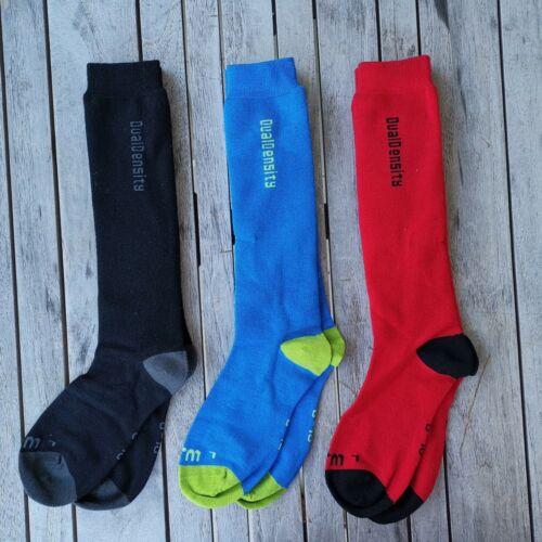 2 Pack XTM HEATER Extreme Warmth SKi Snow Merino Socks size 2-8 6-10 11-14