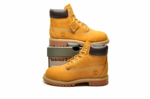 Timberland boots youth Kid 6 inch Premium Classic Suede nubuck scuff water proof