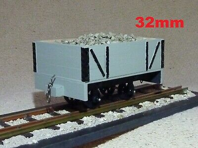 """wood Planked"" Sm32 16mm/foot 1/19th Scale Narrow Gauge Garden Railway 32mm Rtr Materiali Di Alta Qualità"