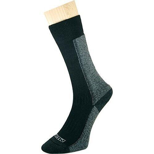 M L Meindl Trekking Socken schwarz S Cool Max kombiniert mit Baumwolle Gr