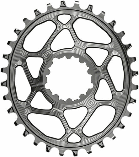 AbsoluteBlack ovale Narrow-Wide Direct Mount Chainring 28 T SRAM 3-Bolt 3 mm Offset