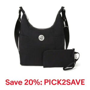baggallini Basel Hobo & Crossbody Handbag, Nylon, Mult. Colors,20% off:PICK2SAVE